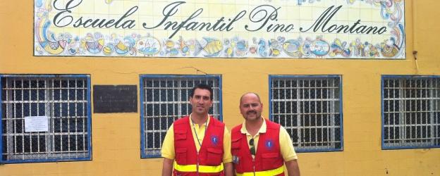 "Ambulancias Tenorio en la ""Escuela Infantil Pino Montano"" de Sevilla. 28/05/2013"