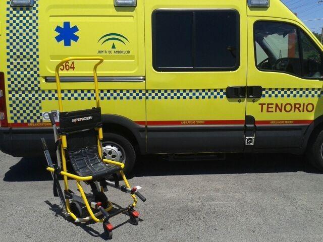 Tenorio Grupo adquiere más de diez sillas de evacuación y transporte (Evac-chair)