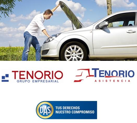 Tenorio Asistencia prestará los servicios de Grúas y Auxilio en Carretera de DAS España en la provincia de Sevilla