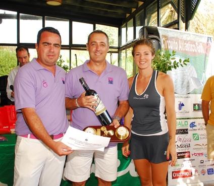 Emilio Jiménez campeón 1ª Categoría en el circuito Atlántico de Golf
