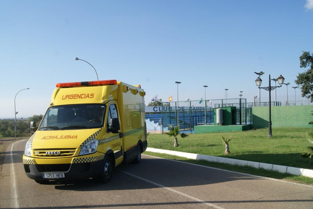 Imágenes de la colaboración de Ambulancias Tenorio con I Open de Pádel a Beneficio de Autismo Sevilla
