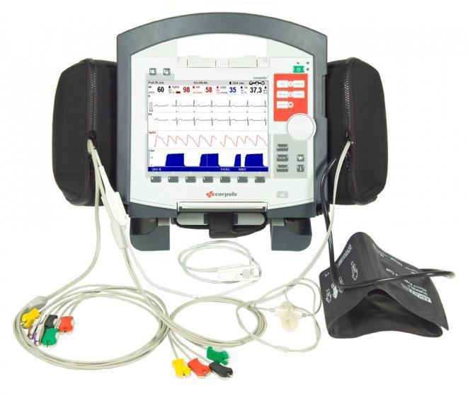 Equipamiento electromédico en ambulancias