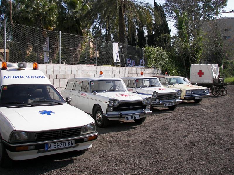 Fotografías de ambulancias antiguas