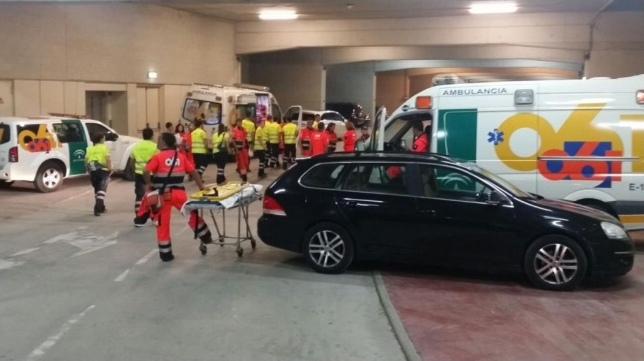 Ambulancias Tenorio e Hijos S.L. participó en el operativo sanitario para el concierto de Alejandro Sanz en Sevilla