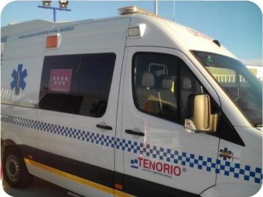 Ambulancias Tenorio e Hijos S.L. comienza a prestar los servicios de transporte en ambulancia para Activa Mutua en la Comunidad de Madrid