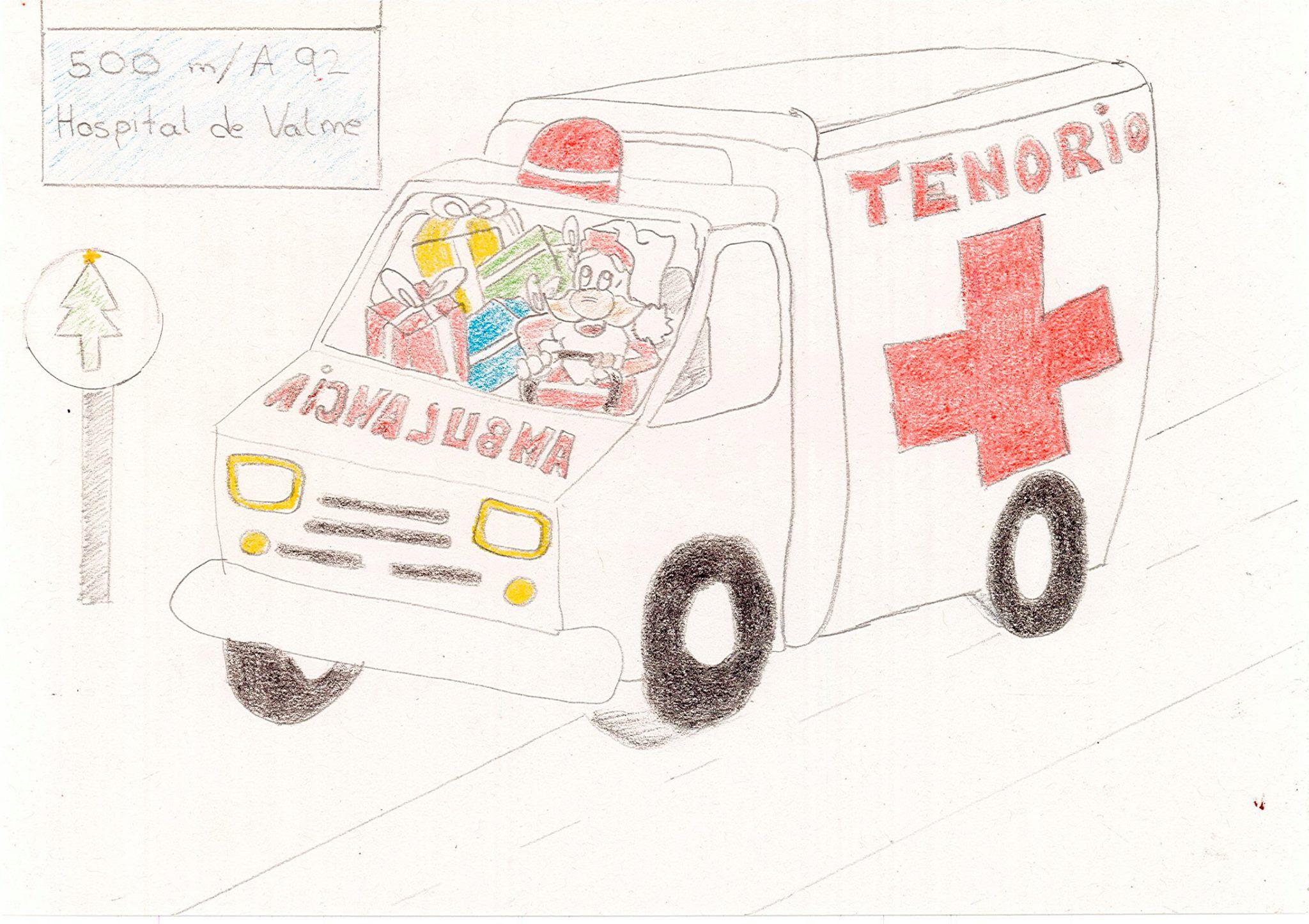 """Ganadores del III Concurso de Dibujo """"La Ambulancia en Navidad"""""""