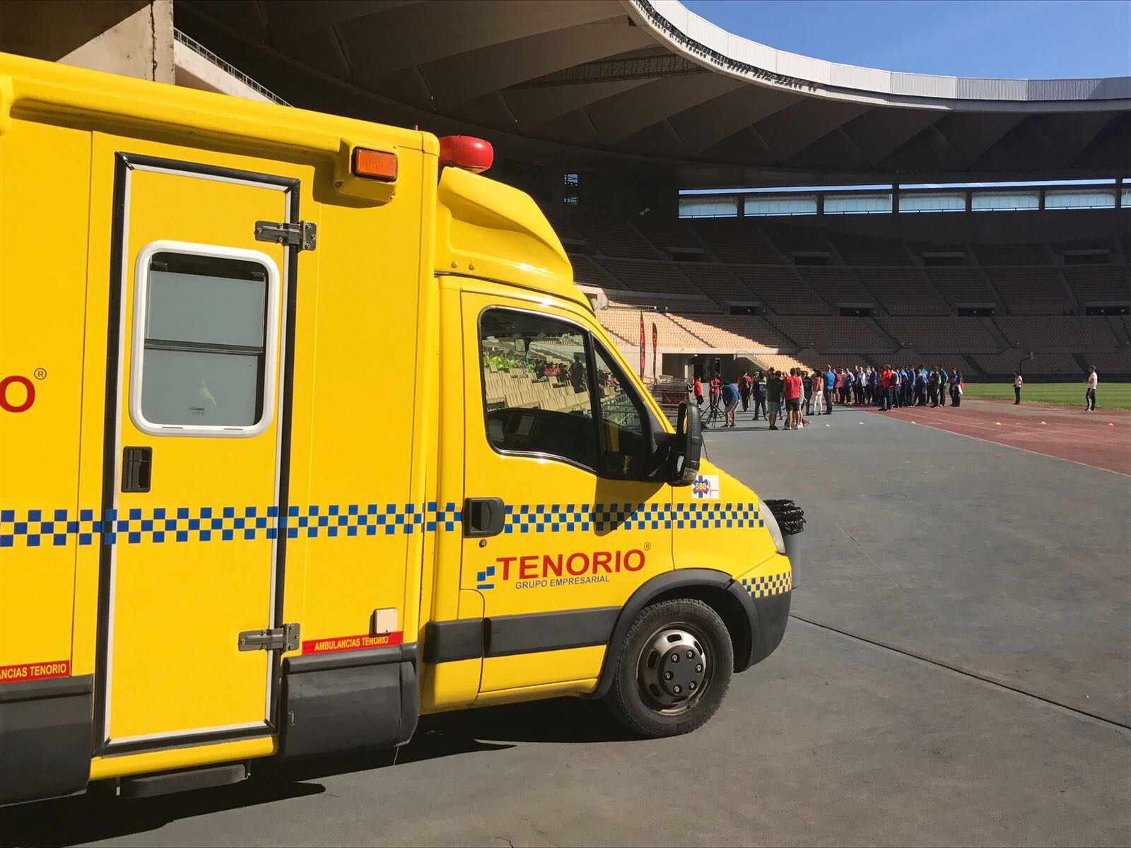Ambulancias Tenorio ha colaborado en la I Miniolimpiadas Interteco