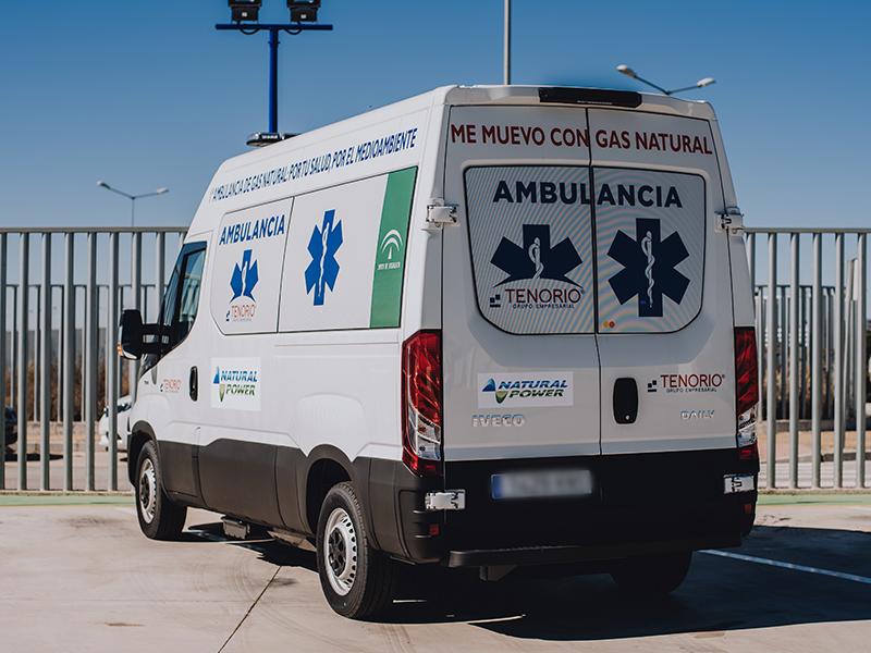 Tenorio Grupo adquiere la primera ambulancia impulsada por gas natural en Europa